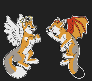 angel_demon_foxes